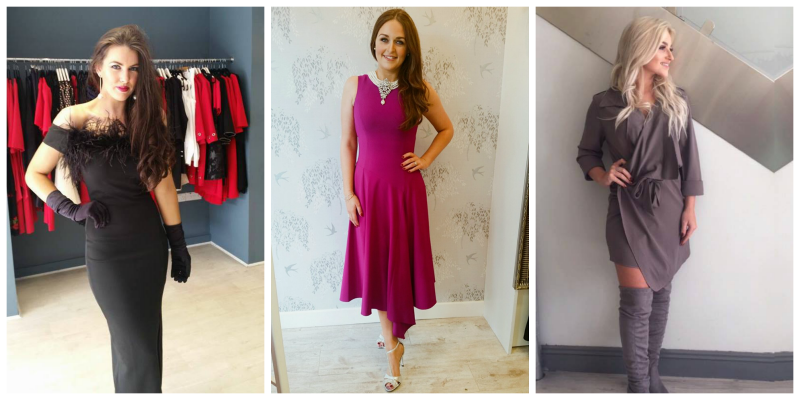 Fashion from L-R: The Dressing Room, Liz Collins Boutique, Skyfall