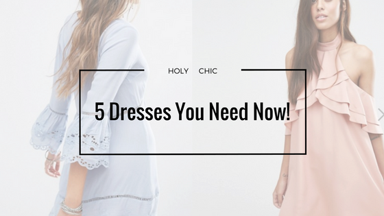 5 ASOS Dresses You Need in your Wardrobe Now!