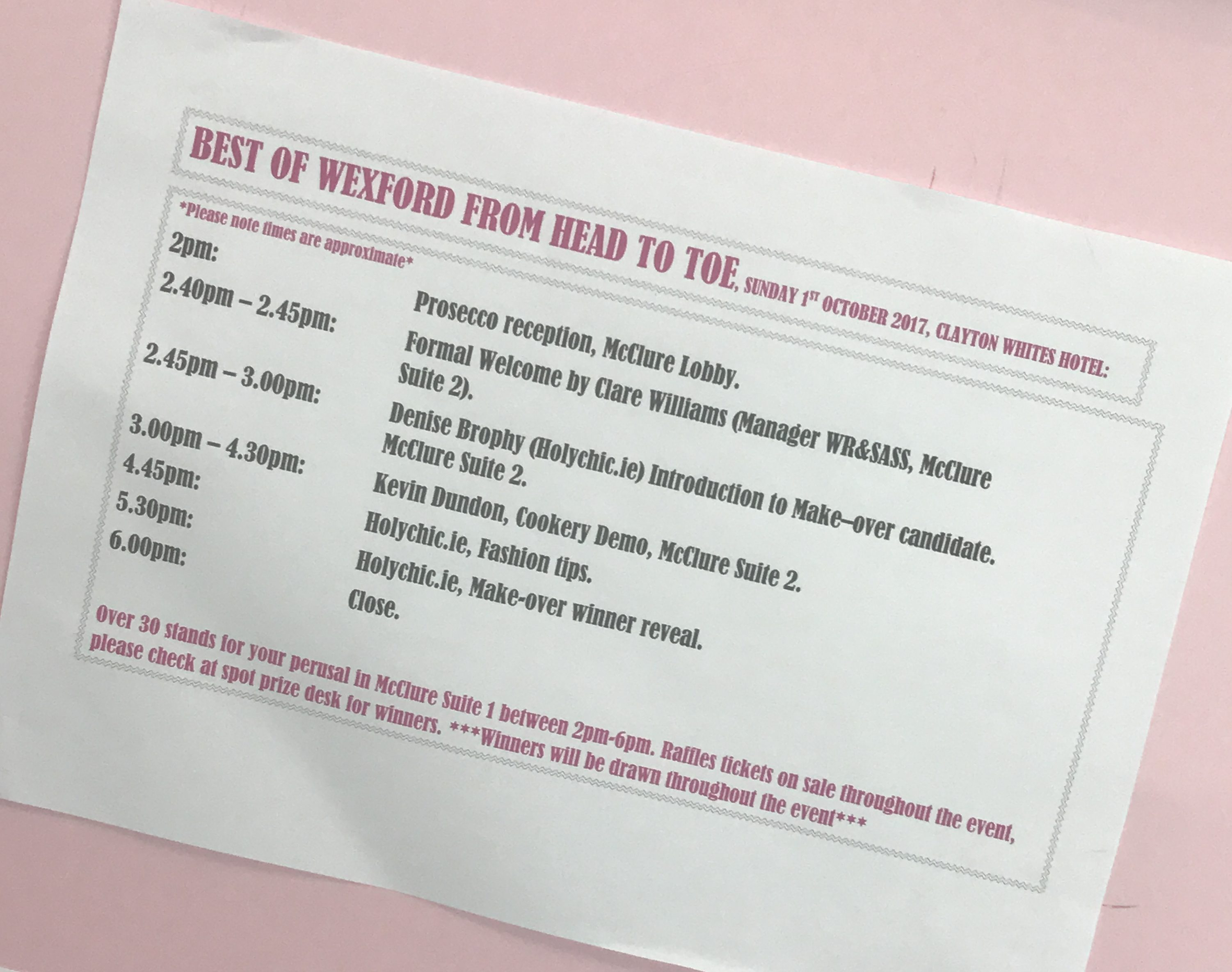 'Best of Wexford' event