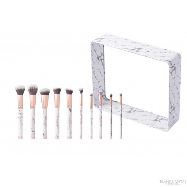 Blank Canvas Irish Makeup Brushes
