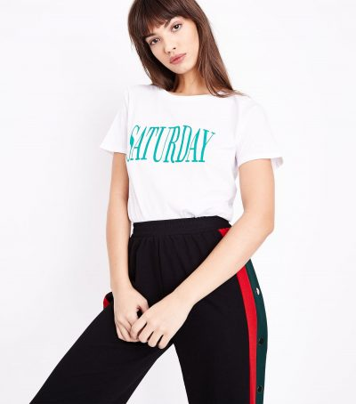 Saturday Slogan Tee