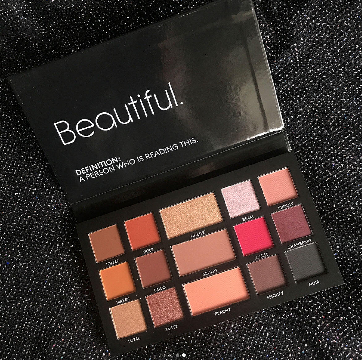 BPerfect LMD Palette Irish cosmetics