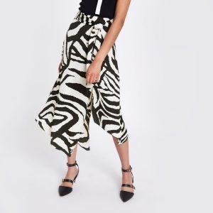 Zebra Print Skirt