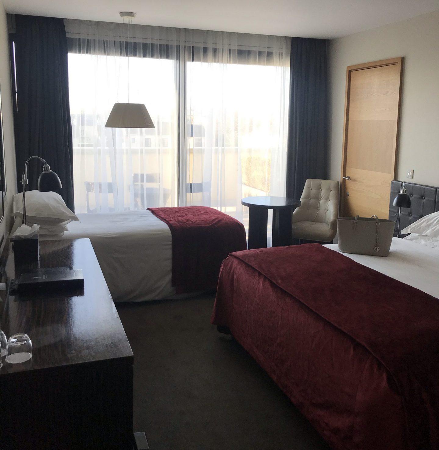 seafield hotel twin room