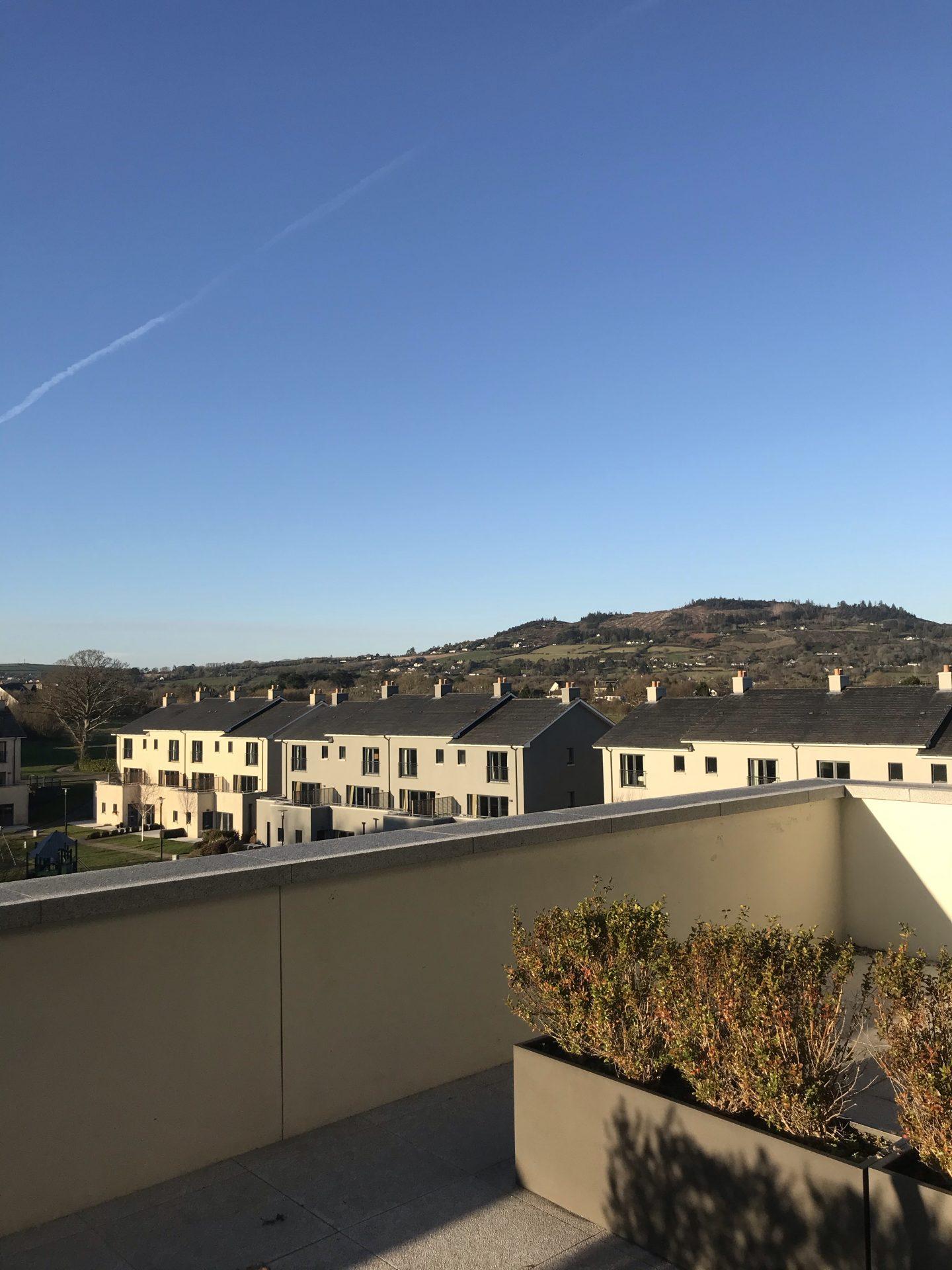 seafield hotel balcony view