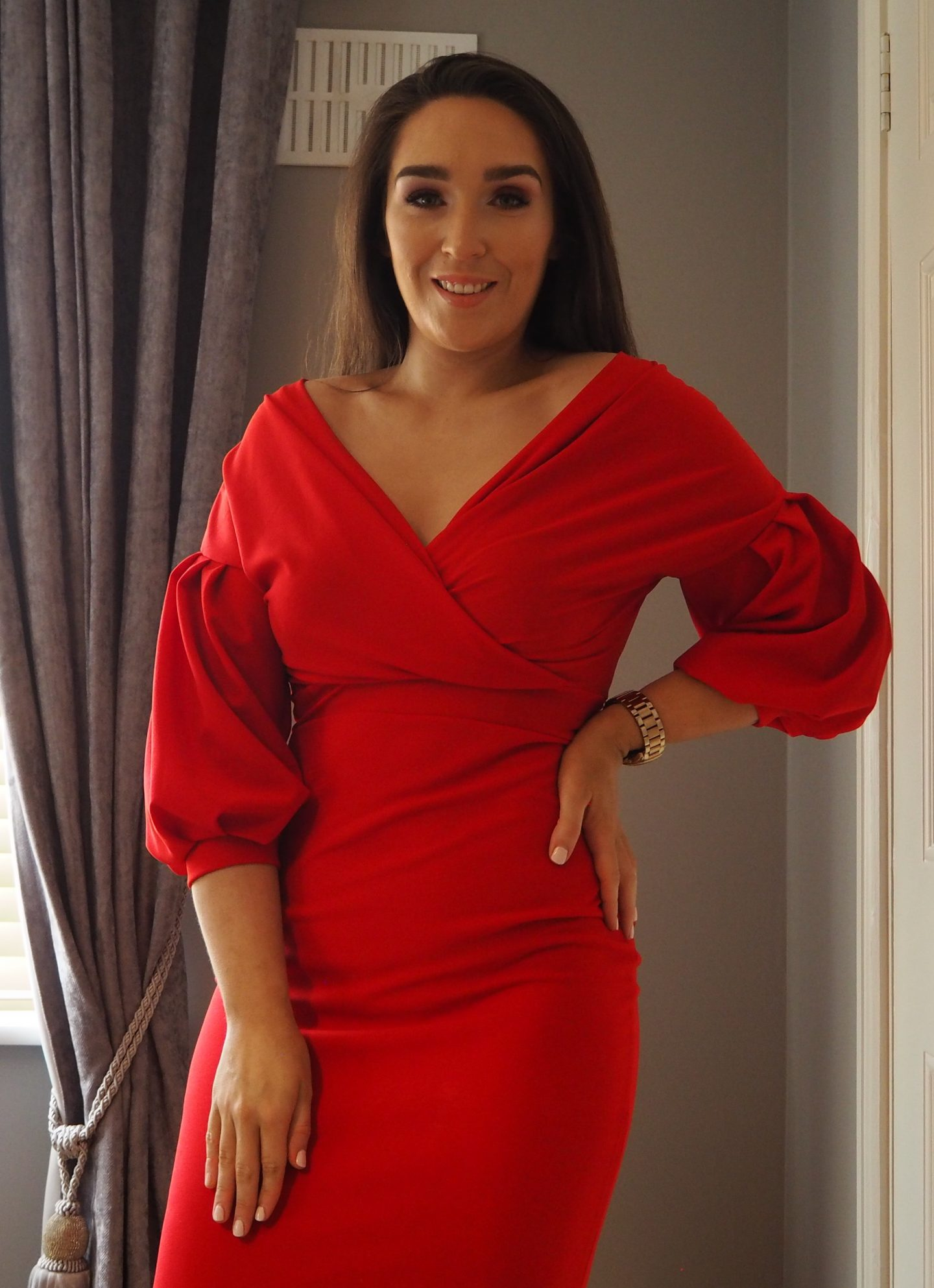 Femme Luxe Red Dress https://femmeluxefinery.co.uk