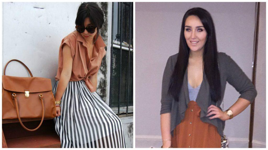 What I Wore: Midi Skirt and Blazer Combo