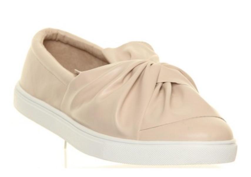 Shoe Rack Nude Bow Shoe
