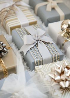Gift Wrapping Presents Inspiration