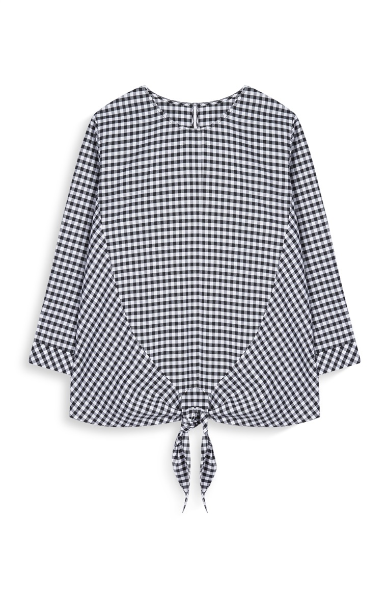 Penneys Gingham Top
