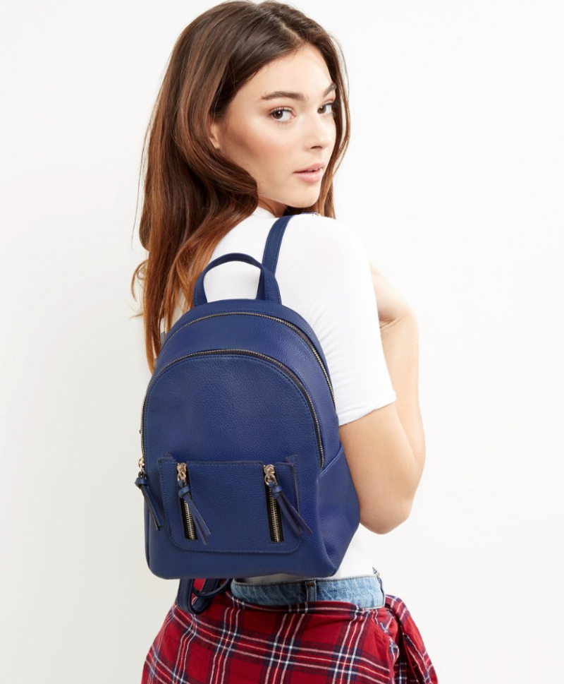 Blue Colour Backpack