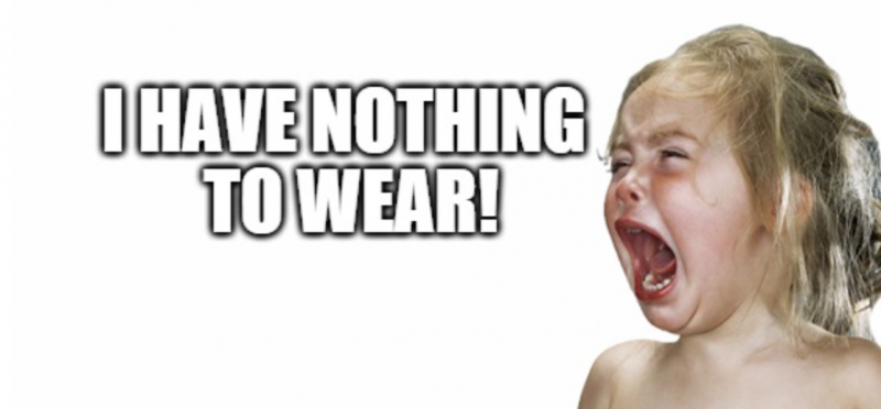 Funny Meme I Have Nothing to Wear