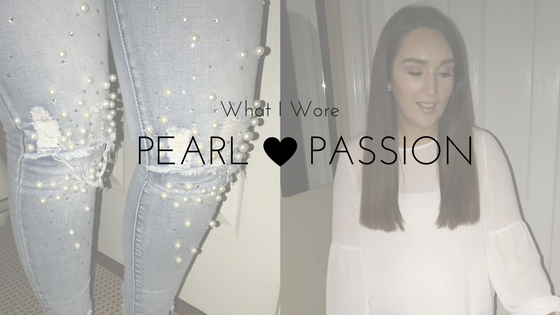 What I Wore: Pearl Passion for the Irish Beauty Show