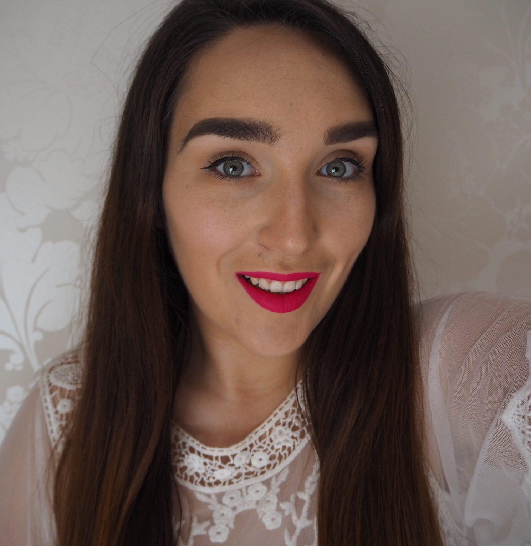 Hot Pink Matte Lipstick
