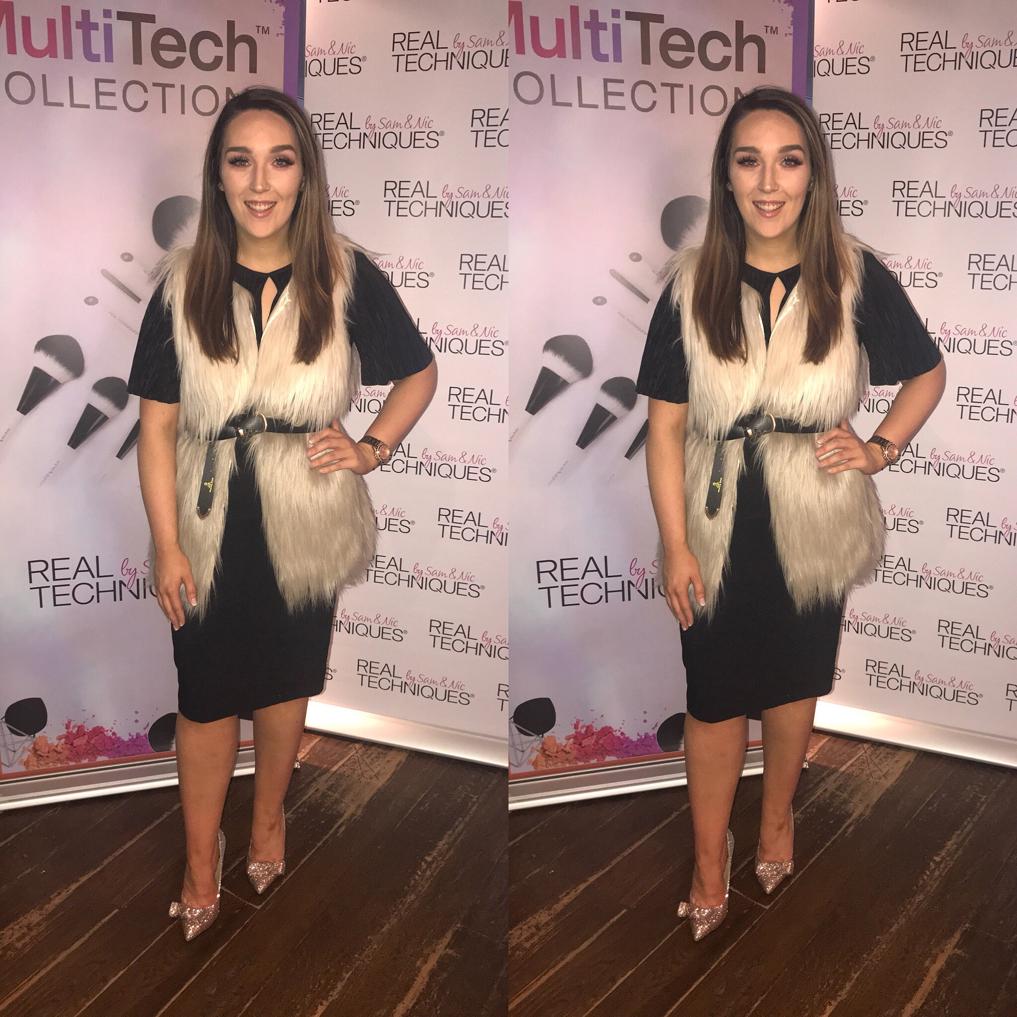 Real Techniques MultiTech Launch What I Wore