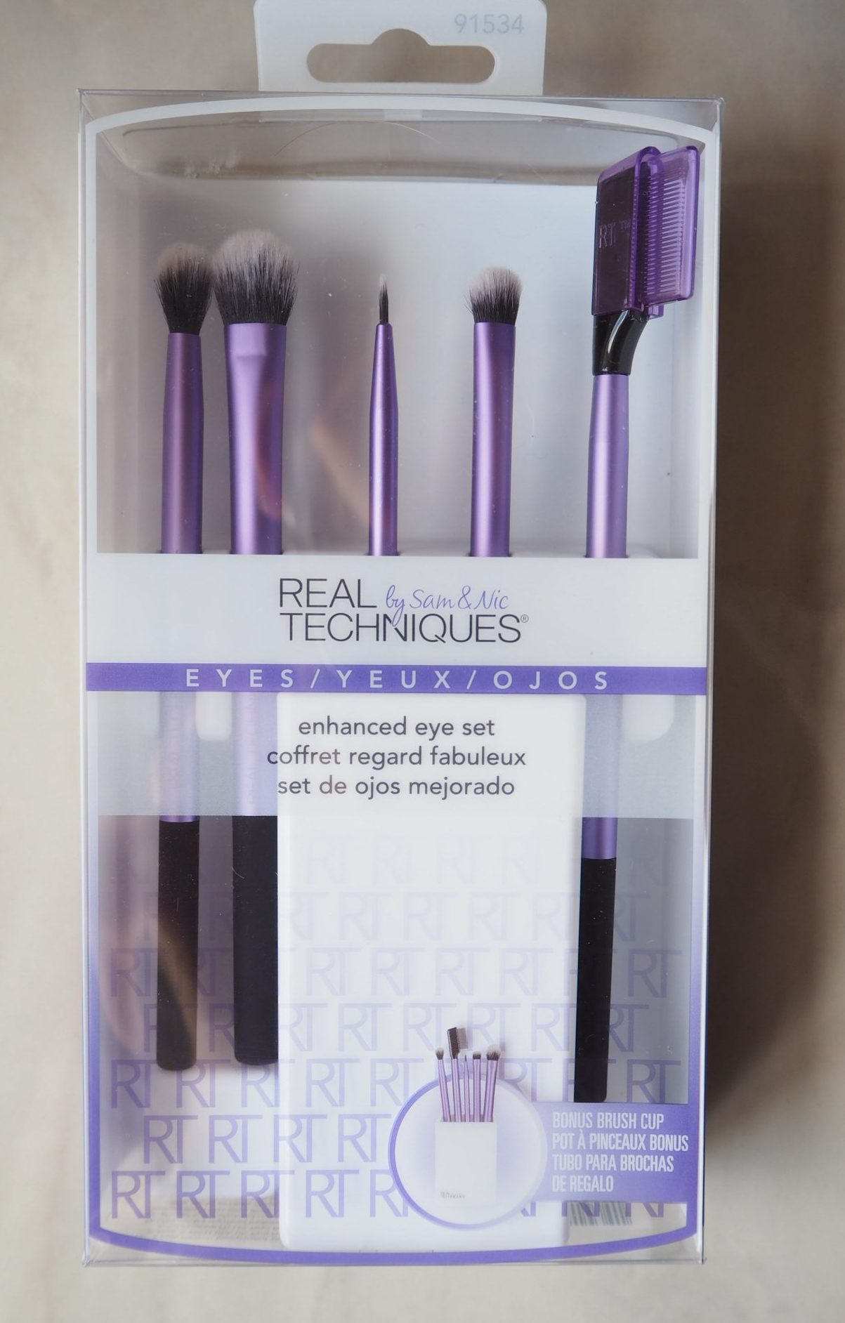 Real Techniques Eyeshadow Brushes