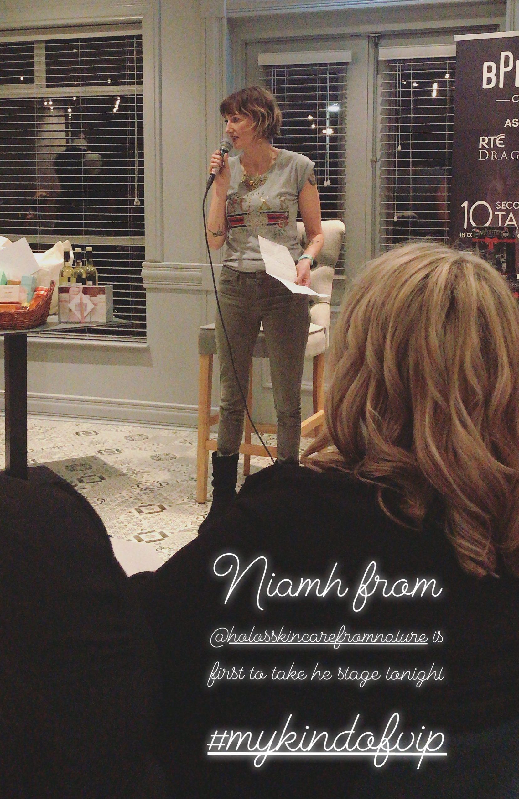 Holos Skincare Niamh Hogan