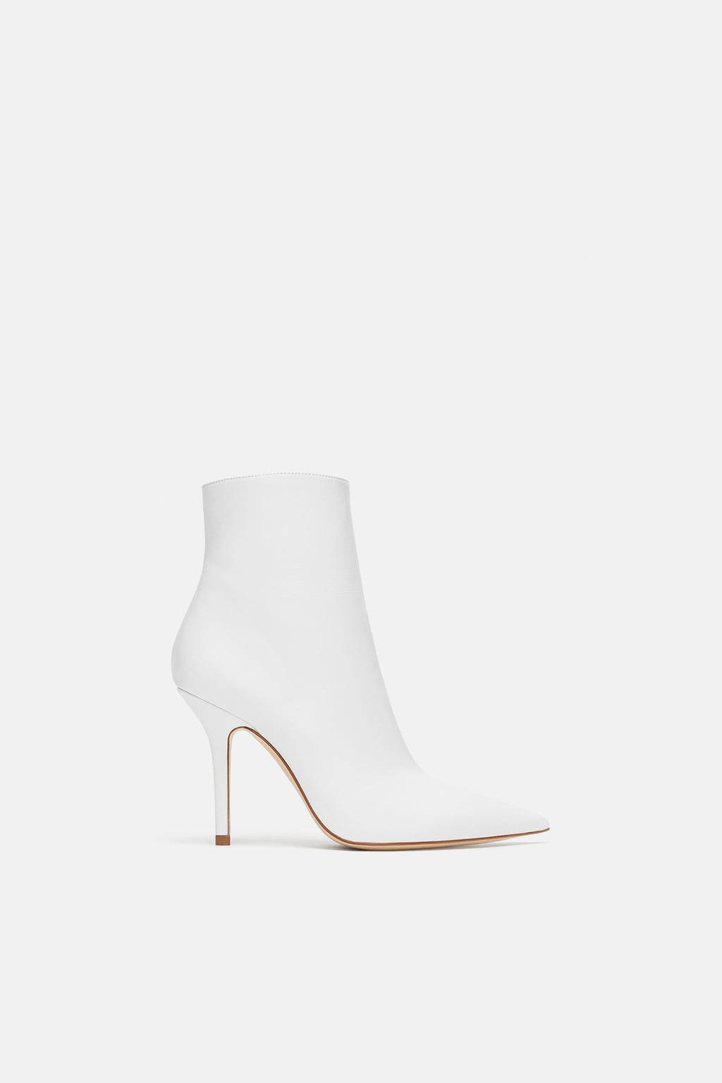 winter white ankle boots